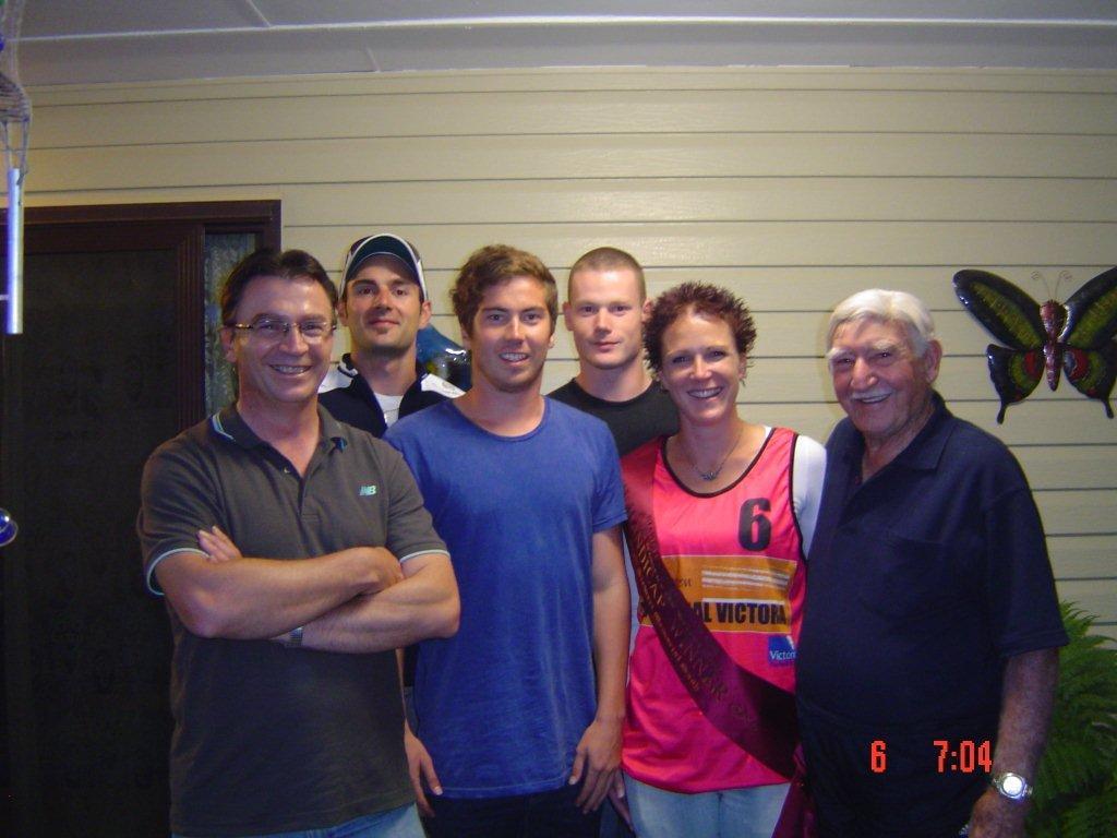 Mick Benoit Athletics Squad