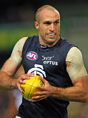 Chris Judd Strapped Shoulder