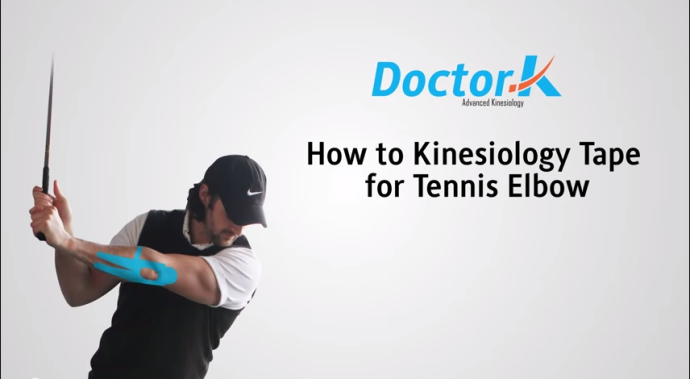 Kinesiology Taping Tennis Elbow